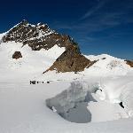 En el Jungfrauhoch