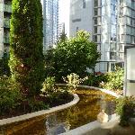 Terrasse vor Zimmer 205