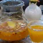 Russian tea, passion fruit and buckthorn
