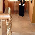 le scale per accedere alle stanze