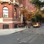 Front Entrance facing Hudson River