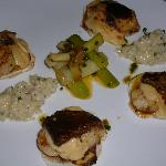Main Course - Scallops w Risotto & truffle