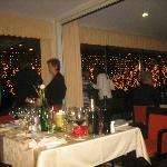 Bellissimo ristorante dell'Hotel Korona