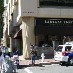 Barbary Coast on the street corner under Parc 55 Hotel