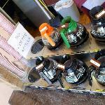 Brewed coffees at Barbary Coast
