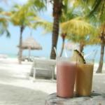 amazing smoothies on the beach