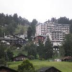 View of the hotel [the side facing the Eiger]