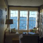 View of the sitting area in Seawatch