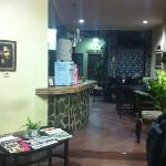 the lobby of the guesthouse. Very cosy and friendly staff.