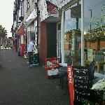 Caffi Gloriosa, West End, Colwyn Bay