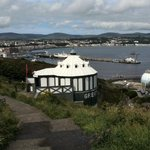 Camera Obscura and view of Douglas bay.
