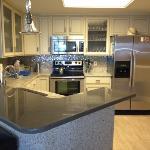 beautifully redone kitchen