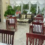 dinner dining area