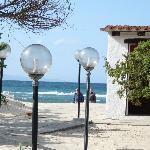 Weg zum hoteleigenen Strand