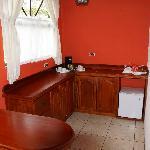 Kitchenette in der Master Suite