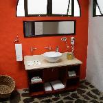 Badezimmer in der Master Suite