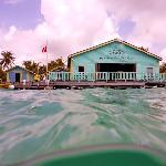 Aquarium Restaurant from the water