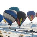 Balloon Launch at White Sands