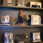 very cool antique toaster collection
