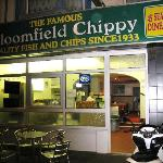 The 'Bloomfield Chippy' Blackpool.