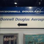 Historical McDonnell Douglas Sign