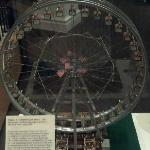 Model of the Ferris Wheel at the 1904 World's Fair