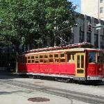Memphis Trolly - on Main Street and Madison Avenue