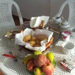 Terracita y desayuno!