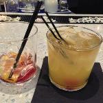 Drinks at lobby bar
