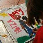 t shirt painting in kids clubs