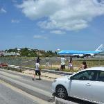 Maho Beach - KLM 747 To/From Amsterdam/SXM