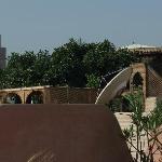 Vue de la terrasse panoramique sur la Koutoubia