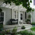 A peaceful side porch