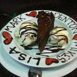 personalized dessert!