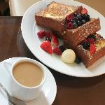 French Toast & Coffee From Room Service - Magnificent