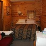 Cabin #4 bedroom