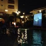 movie in the pool