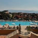 The pool at hotel Trimontium, Plovdiv