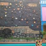 muro del patio