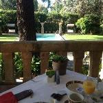 Vista do Café da-manhã