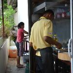 they preparing our food... : )