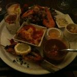 Seafood Themed Platter (Mediterranean Style)