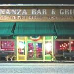 Bonanza Bar and Grill at Night