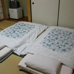 Double/twin futon room