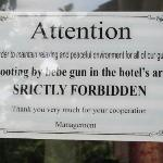 Lobby Notice!