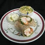 Lobster Wrap..a new england tradition with a healthier twist
