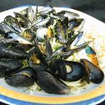 Mussels over past....very good!