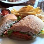 BC salmon sandwich