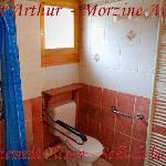 Appartement Pléney, salle de bains adaptée