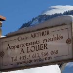 Chalet Arthur l'hiver